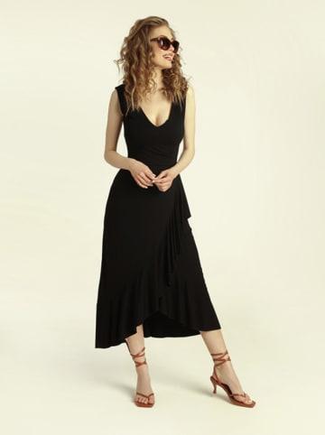 Madnezz Sukienka w kolorze czarnym
