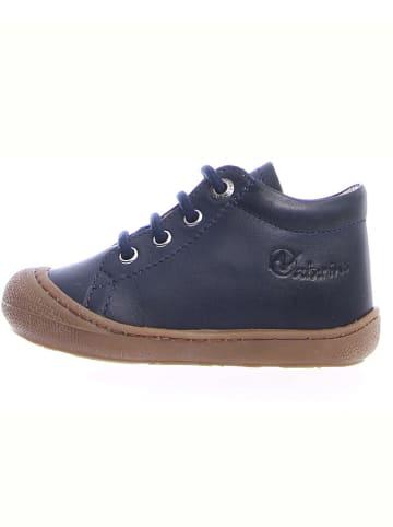 "Naturino Leren sneakers ""Cocon"" marineblauw"