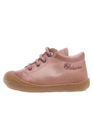"Naturino Leren sneakers ""Cocon"" lichtroze"
