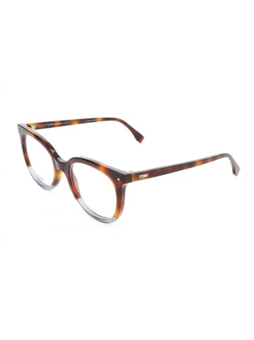 """Fendi Oprawki """"FF 0235"""" w kolorze szaro-brązowym"""