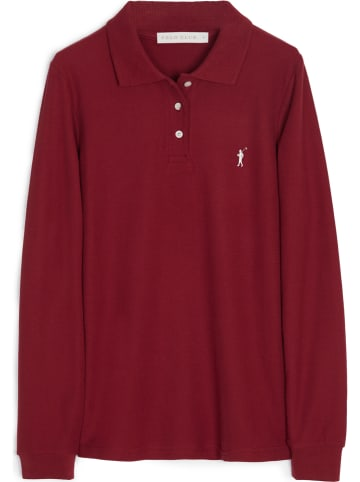 Polo Club Poloshirt rood