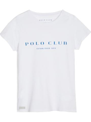 Polo Club Koszulka w kolorze białym