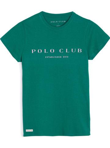 Polo Club Shirt in Grün