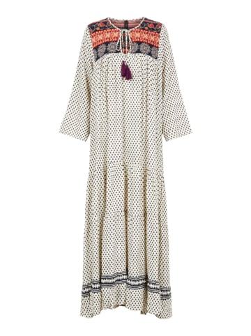 """Y.A.S Sukienka """"Esther"""" w kolorze kremowym ze wzorem"""