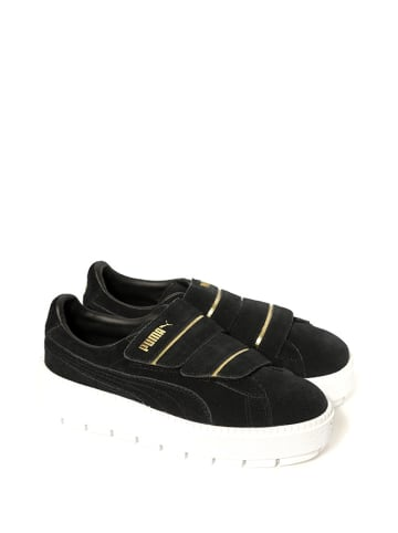 """Puma Sneakersy """"Platform Trace Strap"""" w kolorze czarnym"""