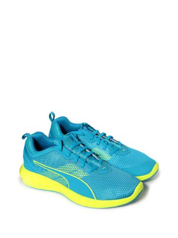 Puma Sneakersy w kolorze niebiesko-żółtym