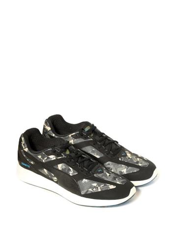 """Puma Sneakersy """"Ignite Fractured"""" w kolorze czarnym ze wzorem"""