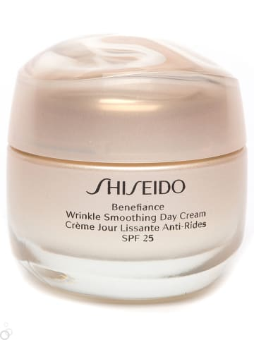 "Shiseido Tagescreme ""Benefiance Wrinkle Smoothing"" - LSF 25, 50 ml"