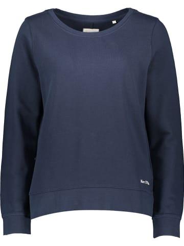Marc O'Polo DENIM Sweatshirt donkerblauw