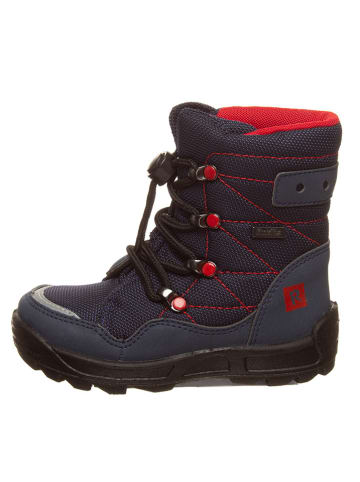 Richter Shoes Winterboots donkerblauw/rood
