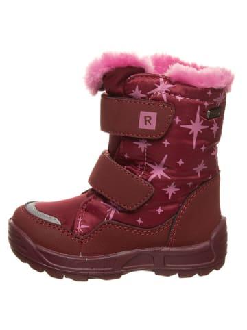 Richter Shoes Botki zimowe w kolorze fioletowo-jasnoróżowym