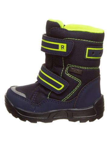 Richter Shoes Winterboots zwart/neongeel