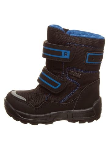 Richter Shoes Winterboots in Schwarz/ Blau