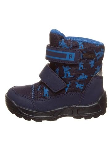 Richter Shoes Botki zimowe w kolorze granatowym