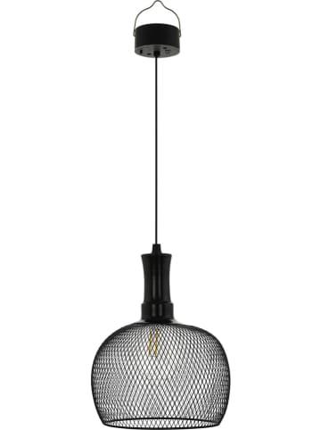 EGLO Solarna lampa wisząca LED w kolorze czarnym - wys. 53 x Ø 19 cm