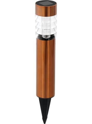 EGLO Ledsolartuinsteker koperkleurig - (H)28 cm