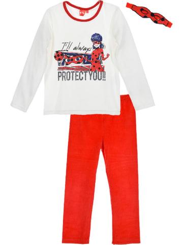 "Miraculous Pyjama ""Ladybug"" in Weiß/ Rot"