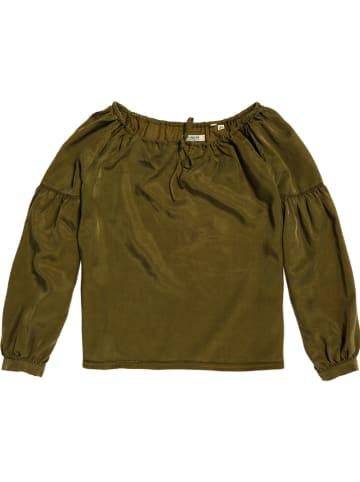 Superdry Bluzka w kolorze khaki