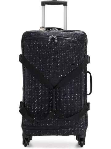 """Kipling Softcase-trolley """"Cyrah M"""" zwart/wit - (B)38 x (H)69 x (D)31 cm"""