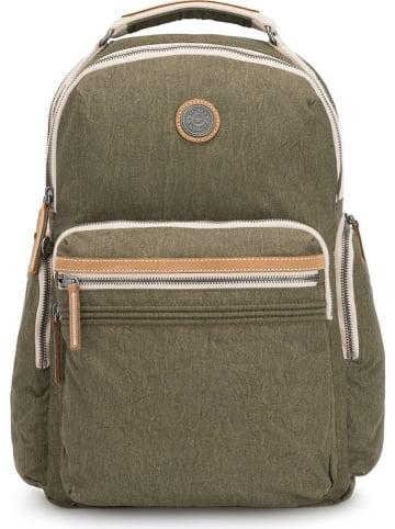 """Kipling Plecak """"Osho"""" w kolorze khaki - 36 x 42 x 18 cm"""