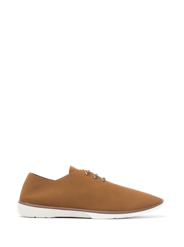 "Muroexe Sneakersy ""Erosion Moss"" w kolorze brązowym"