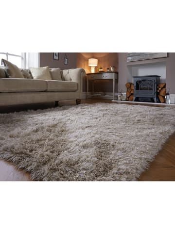 Flair Rugs Hochflor-Teppich in Creme