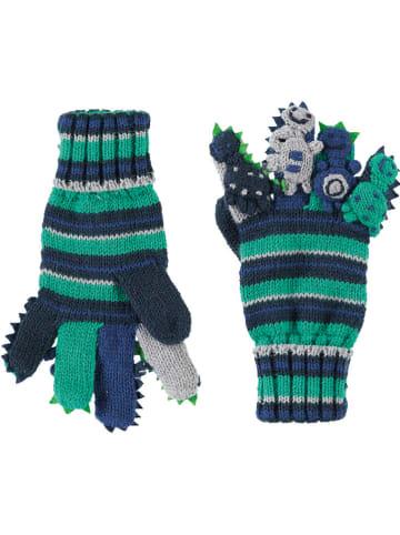 Döll Rękawiczki w kolorze niebiesko-zielonym