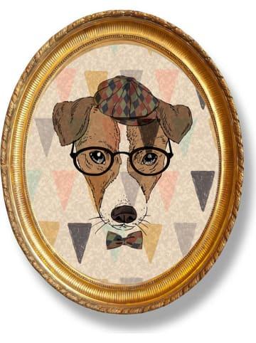"Really Nice Things Wanddecoratie ""Dog Tie"" - (B)40 x (H)50 cm"
