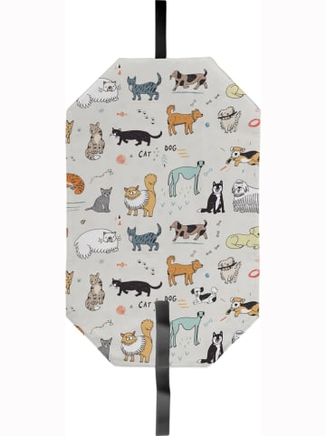 """Really Nice Things Sandwich-Hülle """"Dogs and Cats"""" in Beige - (L)49 x (B)30 cm"""