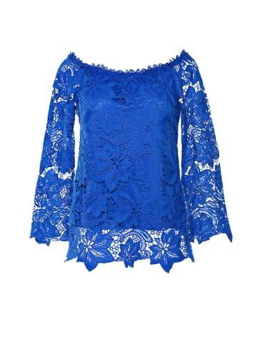 Molton Bluzka w kolorze niebieskim