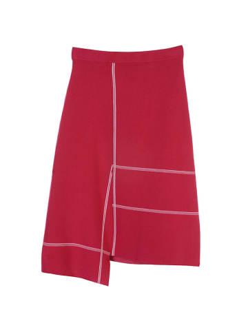 STEFANEL Spódnica w kolorze czerwonym