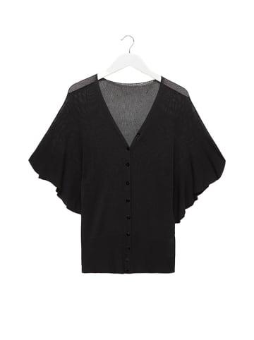 STEFANEL Kardigan w kolorze czarnym