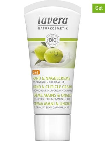 Lavera 10-delige set: 2-in-1-hand-/nagelcrème, elk 20 ml