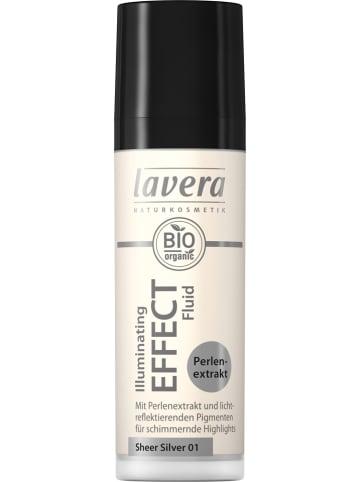 """Lavera Highlighter """"Illuminating Effect - Sheer Silver 01"""", 30 ml"""