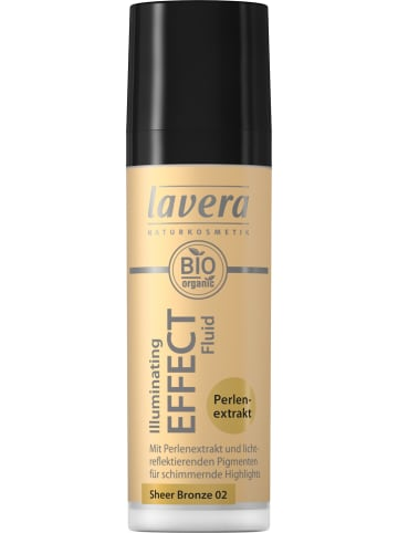 "Lavera Highlighter ""Illuminating Effect - Sheer Bronze 02"", 30 ml"
