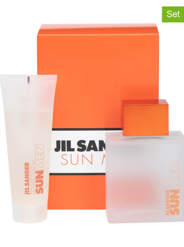 "Jil Sander 2tlg. Set: ""Sun Men"" - EdT und All-Over-Shampoo, je 75 ml"
