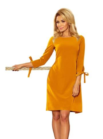 Numoco Sukienka w kolorze pomarańczowym