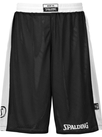 "Spalding Wende-Trainingsshorts ""Essential"" in Schwarz/ Weiß"