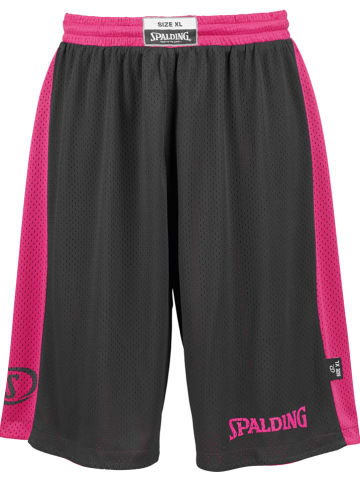"Spalding Wende-Trainingsshorts ""Essential"" in Pink/ Schwarz"