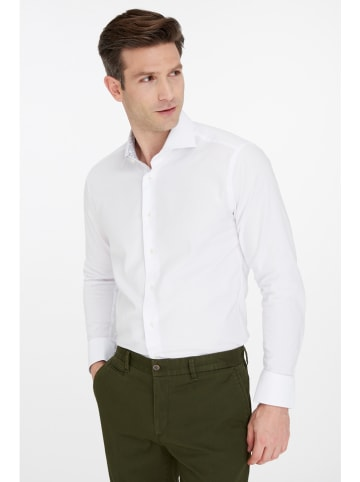 "Van Gils Hemd ""Extreme"" - Slim fit - in Weiß"