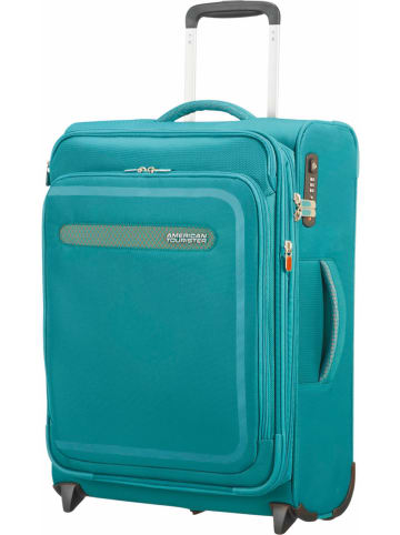 "American Tourister Softcase-trolley ""Upright"" blauw - (B)40 x (H)55 x (D)20 cm"