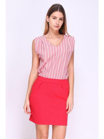 """Chic & Pretty Kleid """"Valentine"""" in Rot/ Weiß"""
