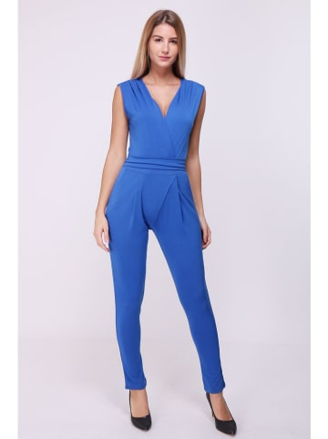 "Chic & Pretty Jumpsuit ""Celia"" in Blau"