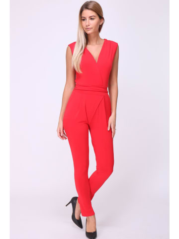 "Chic & Pretty Jumpsuit ""Celia"" rood"
