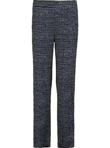 Garcia Spodnie w kolorze granatowym