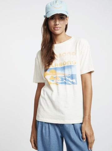 """Billabong Koszulka """"Coast Line"""" w kolorze białym"""