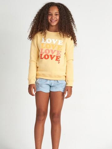 "Billabong Sweatshirt ""So much Love"" geel"