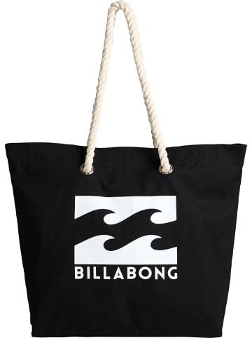 """Billabong Torebka """"Essential"""" w kolorze czarnym - 54 x 41 x 13 cm"""