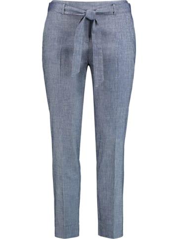 SAMOON Spodnie w kolorze granatowym