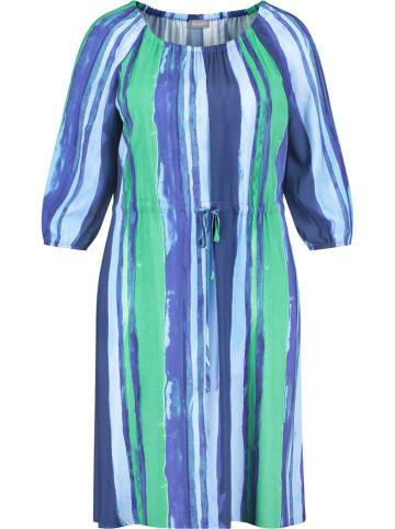 SAMOON Sukienka w kolorze niebiesko-zielonym